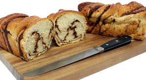 Natural Chunky Cinnamon Bread by Gregory''s Foods Wholesale